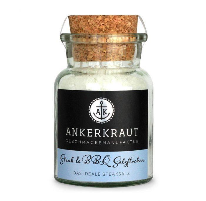 Ankerkraut Steak & BBQ Salzflocken, 100g Glas