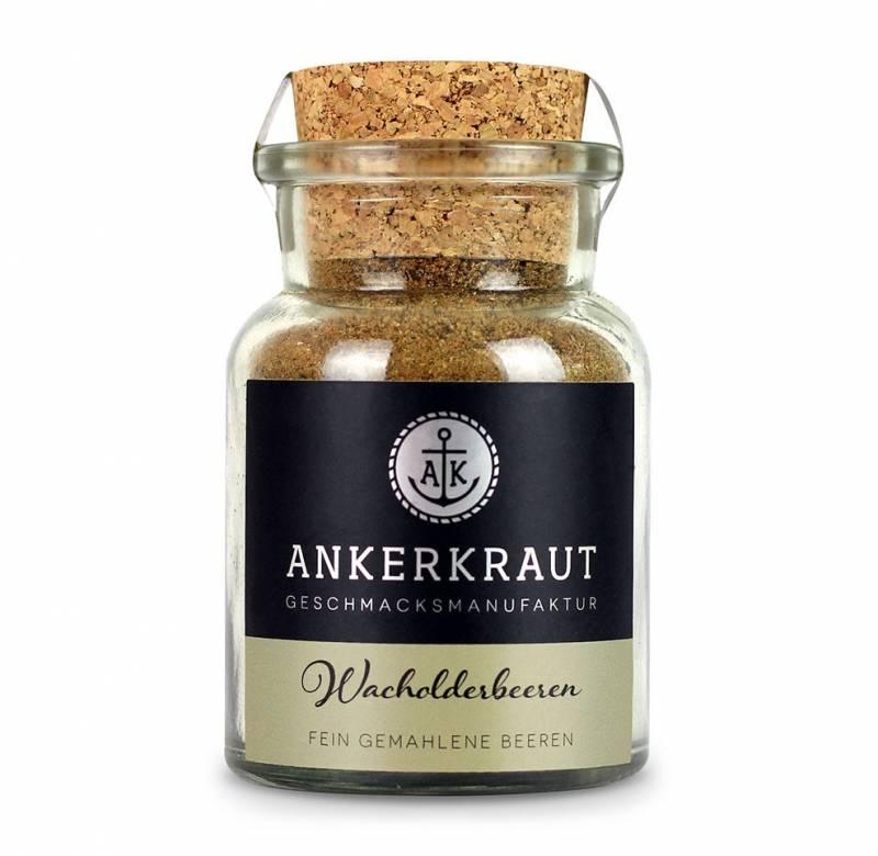 Ankerkraut Wacholderbeeren gemahlen, 50g Glas