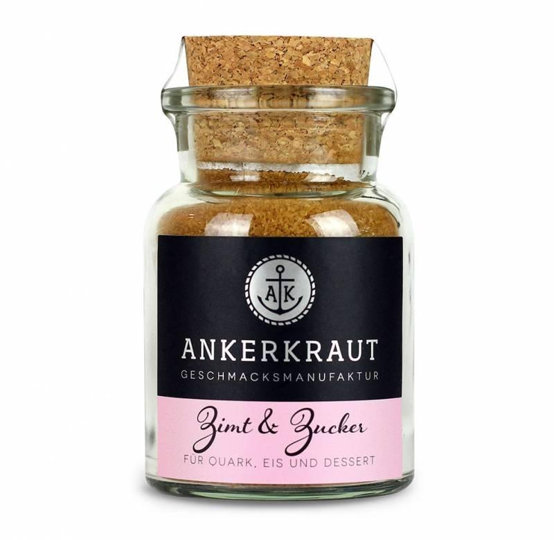 Ankerkraut Zimt & Zucker, 100g Glas