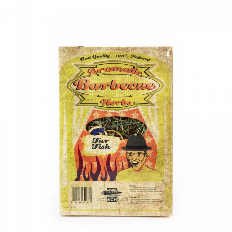 Auslaufartikel - Axtschlag Aromatic Herbs Heu Garschale Fisch 300x200x40
