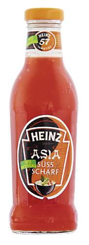 Asia Sauce Süß & Scharf 525 ml Glasflasche
