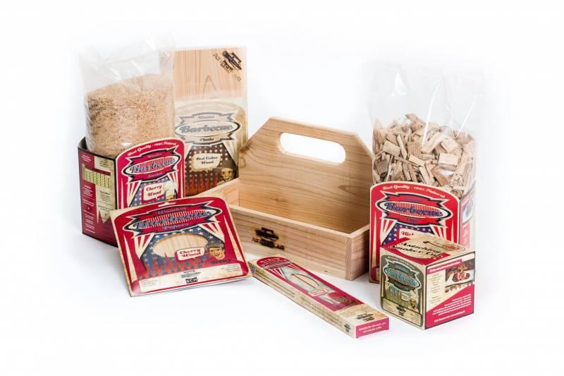 Axtschlag Starterbox - Einsteigerset BBQ Wood