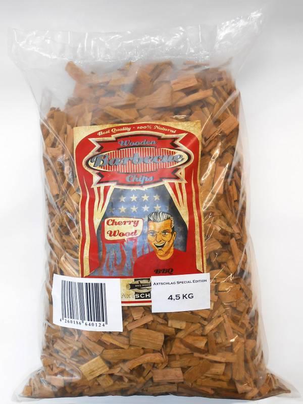 Auslaufartikel - Axtschlag Räucherchips (Wood Chips) - Cherry / Kirsche 4,5kg 40124
