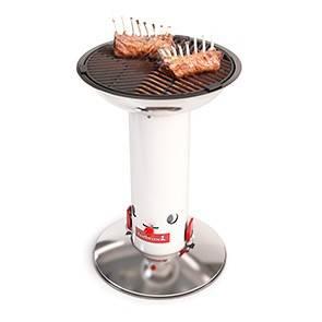 Barbecook Holzkohlegrill Largo white