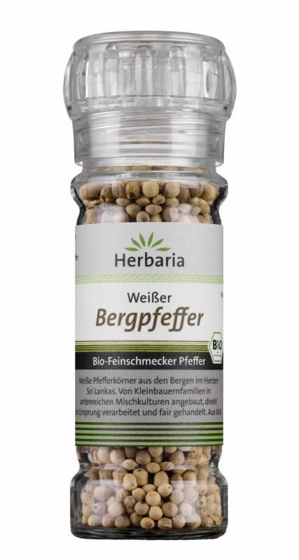Herbaria BIO Bergpfeffer weiß - Mühle 55g