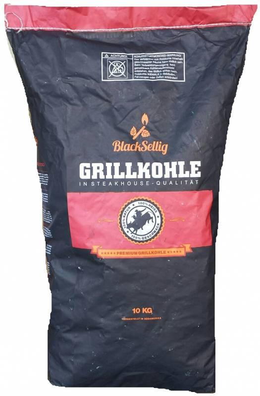 BlackSellig Steakhousekohle / Restaurant Holzkohle 10 kg