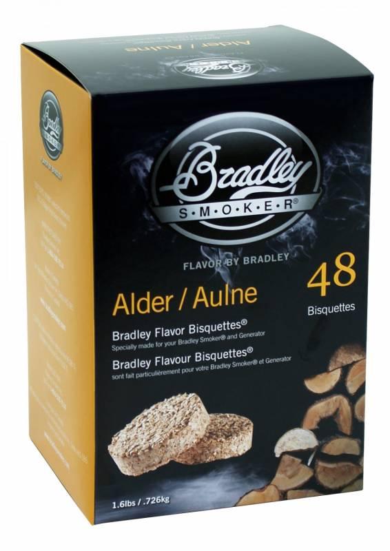 Bradley Smoker Alder / Erle Bisquetten 48er Pack