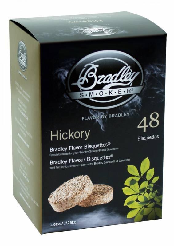 Bradley Smoker Hickory Bisquetten 48er Pack