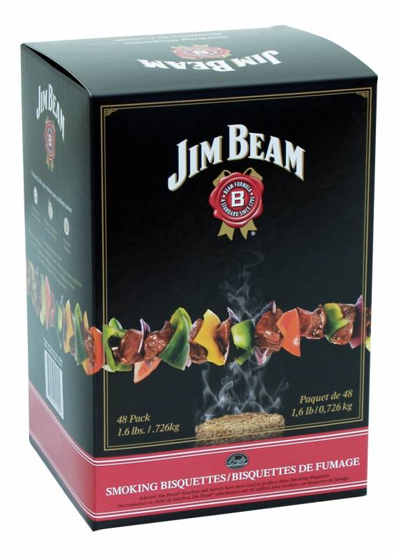 Auslaufartikel - Bradley Smoker Jim Beam Bisquetten 48er Pack