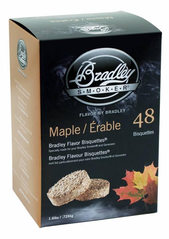 Bradley Smoker Maple / Ahorn Bisquetten 48er Pack