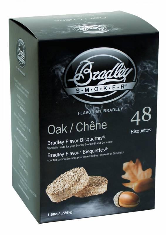 Bradley Smoker Oak / Eiche Bisquetten 48er Pack
