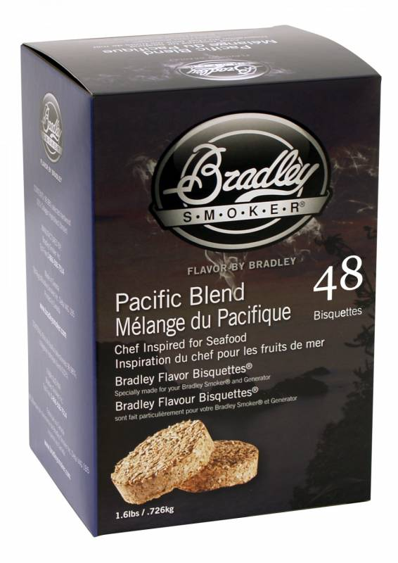 Bradley Smoker Pacific Blend Bisquetten 48er Pack