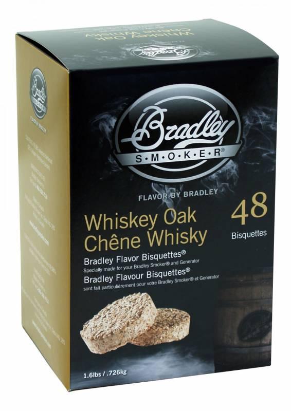 Bradley Smoker Whiskey Oak / Eiche Bisquetten 48er Pack