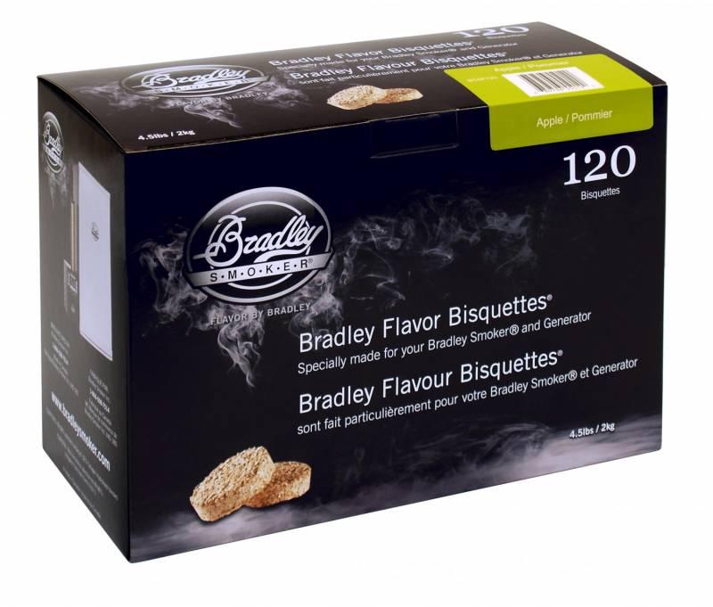 Bradley Smoker Apple / Apfel Bisquetten 120er Pack