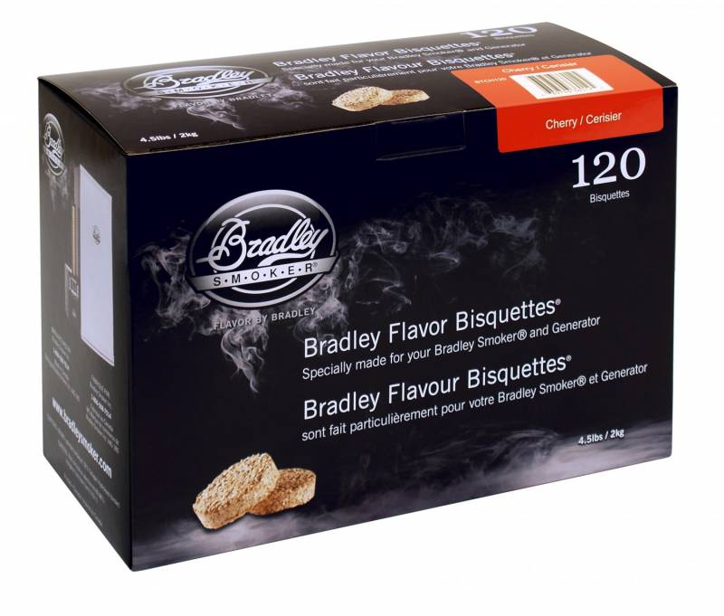 Bradley Smoker Cherry / Kirsche Bisquetten 120er Pack