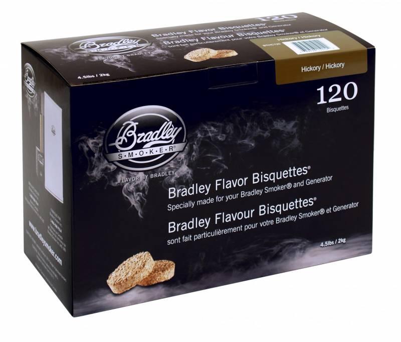 Bradley Smoker Hickory Bisquetten 120er Pack