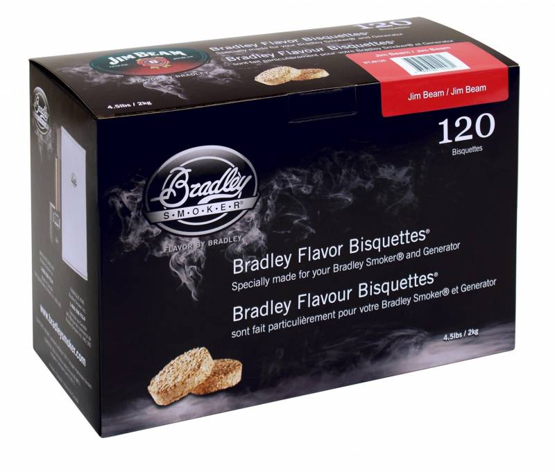 Bradley Smoker Jim Beam Bisquetten 120er Pack