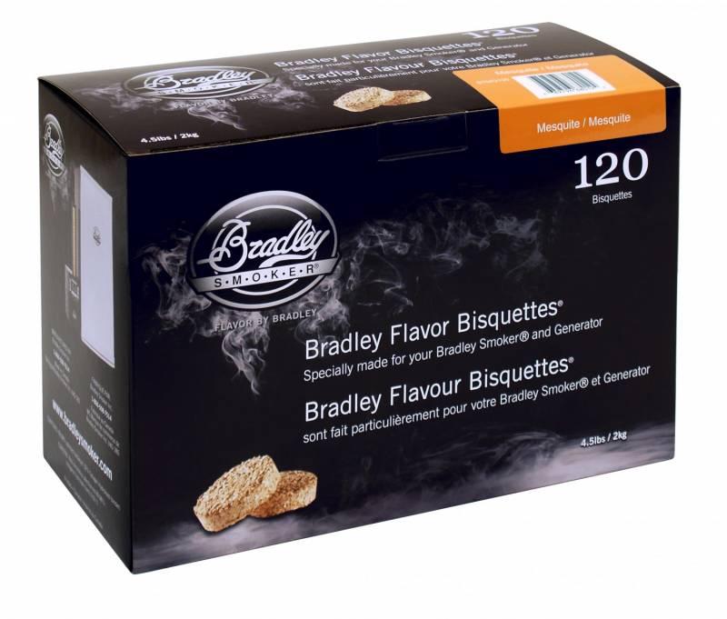 Bradley Smoker Mesquite Bisquetten 120er Pack
