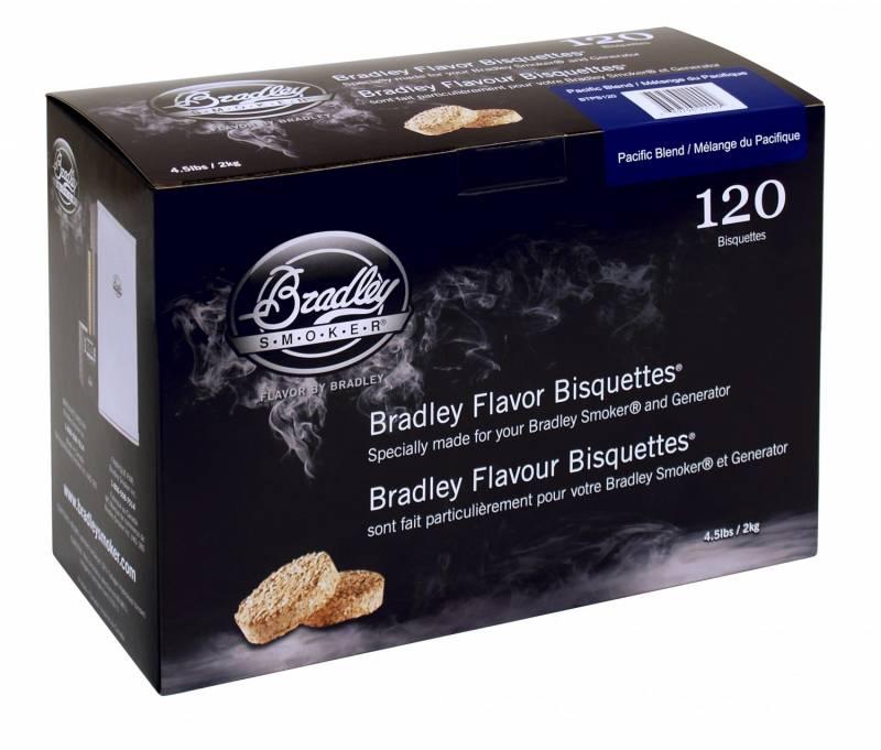 Bradley Smoker Pacific Blend Bisquetten 120er Pack - Auslaufartikel