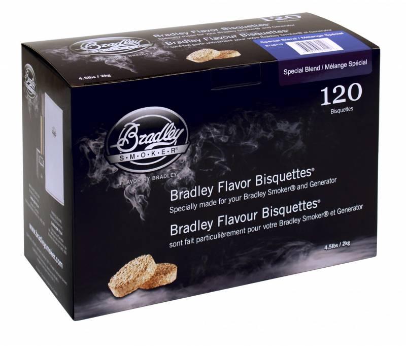 Bradley Smoker Special Blend Bisquetten 120er Pack