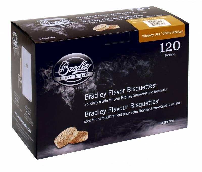 Bradley Smoker Whiskey Oak / Eiche Bisquetten 120er Pack