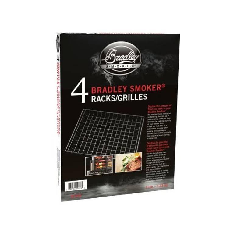 Bradley Smoker Roste 4er Set