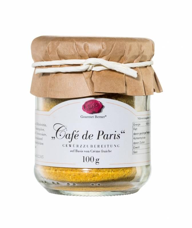 Gourmet Berner Cafe de Paris im 100g Glas