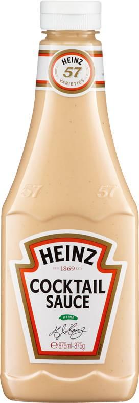 Cocktail Sauce 875 ml Plastikflasche