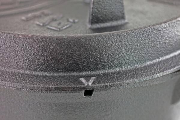Petromax Feuertopf 11,4 Liter Dutch Oven - mit Füßen
