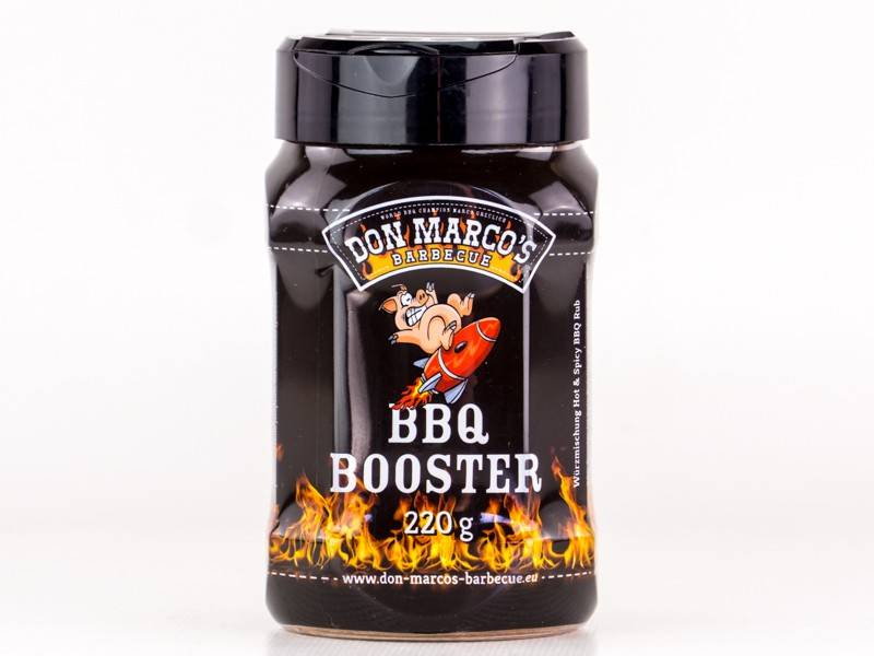 Don Marcos BBQ Booster BBQ Rub 220g Dose