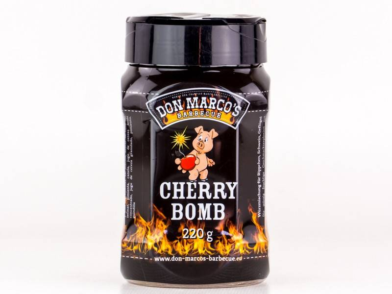 Don Marcos Cherry Bomb BBQ Rub 220g Dose