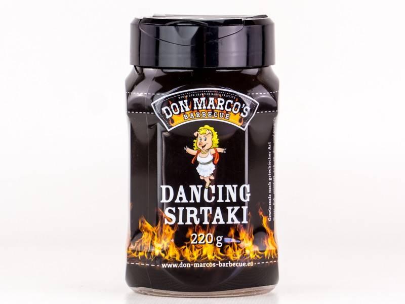 Don Marcos Dancing Sirtaki BBQ Rub 220g Dose