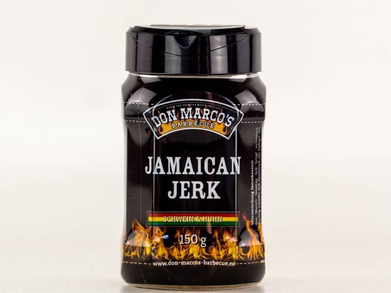Don Marcos Jamaican Jerk BBQ Gewürz 150g Dose