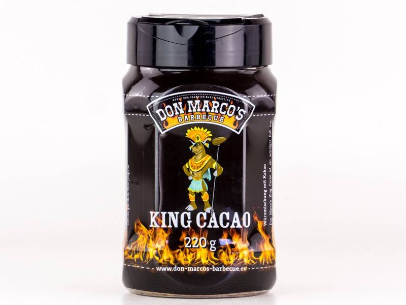 Don Marcos King Cacao BBQ Rub 220g Dose