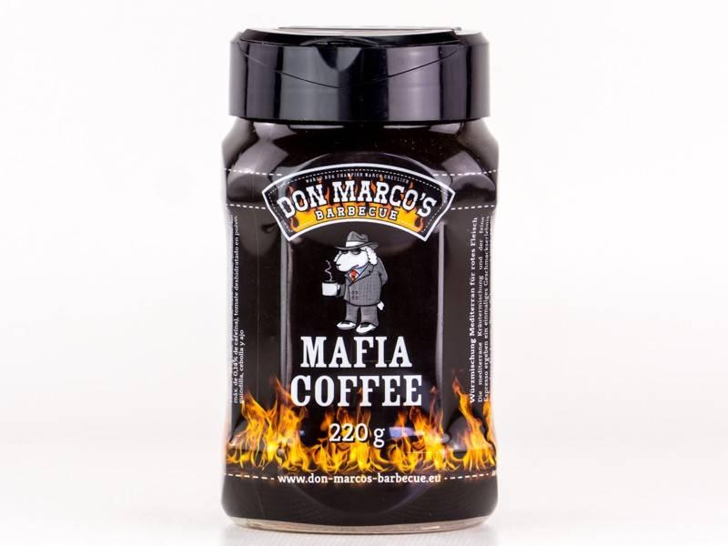 Don Marcos Mafia Coffee Rub BBQ Rub 220g Dose