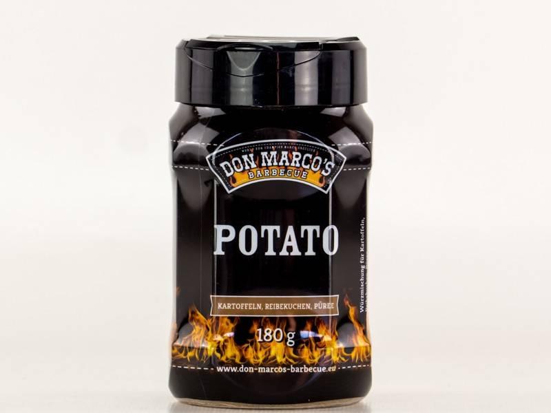 Don Marcos Potato BBQ Gewürz 180g Dose