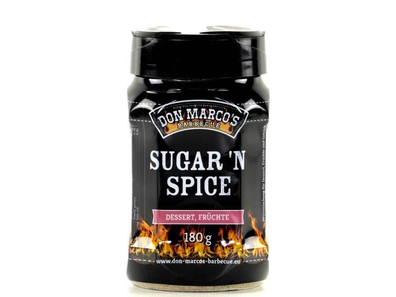 Don Marcos Sugar n Spice BBQ Gewürz 180g Dose