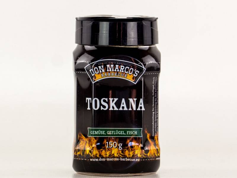 Don Marcos Toskana BBQ Gewürz 150g Dose