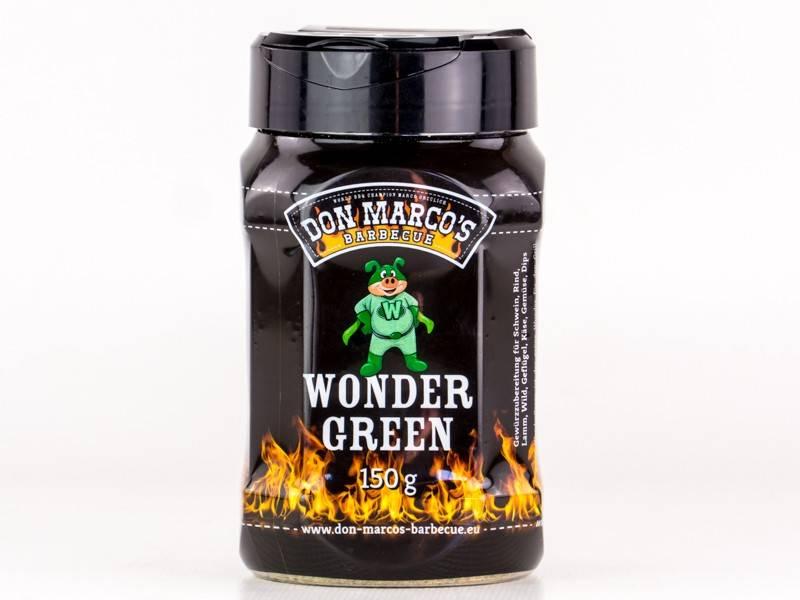 Don Marcos WonderGreen BBQ Rub 150g Dose