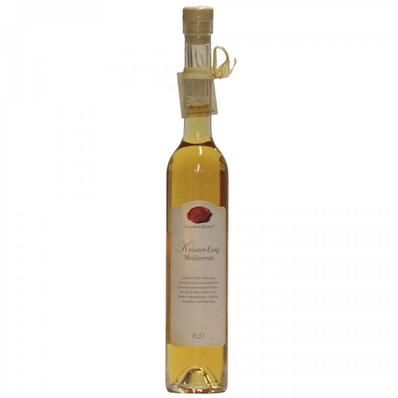 Gourmet Berner Kräuteressig Mediterran, 0,2l