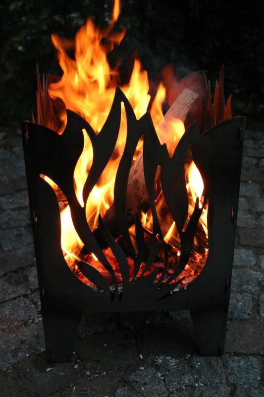 SvenskaV Feuerkorb Flamme L 2027
