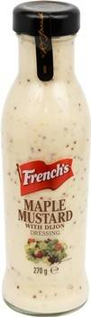 Frenchs Maple Mustard with Dijon Dressing 250ml