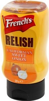 Frenchs Sweet Onion Relish 275ml