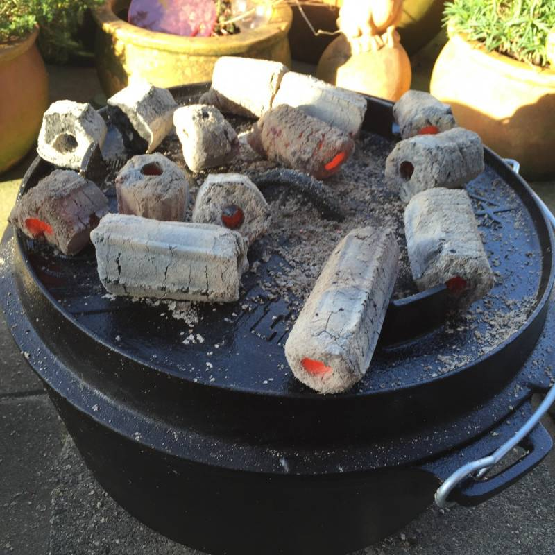 Greek Fire Holzkohlebriketts 20kg
