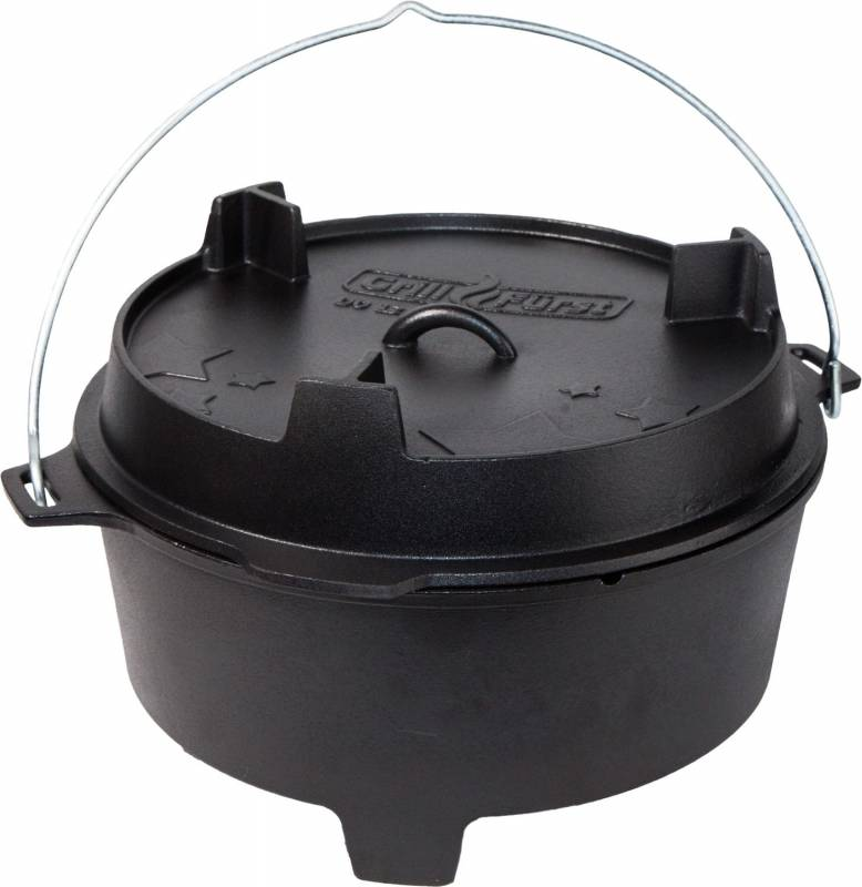 Grillfürst Dutch Oven BBQ Edition DO12
