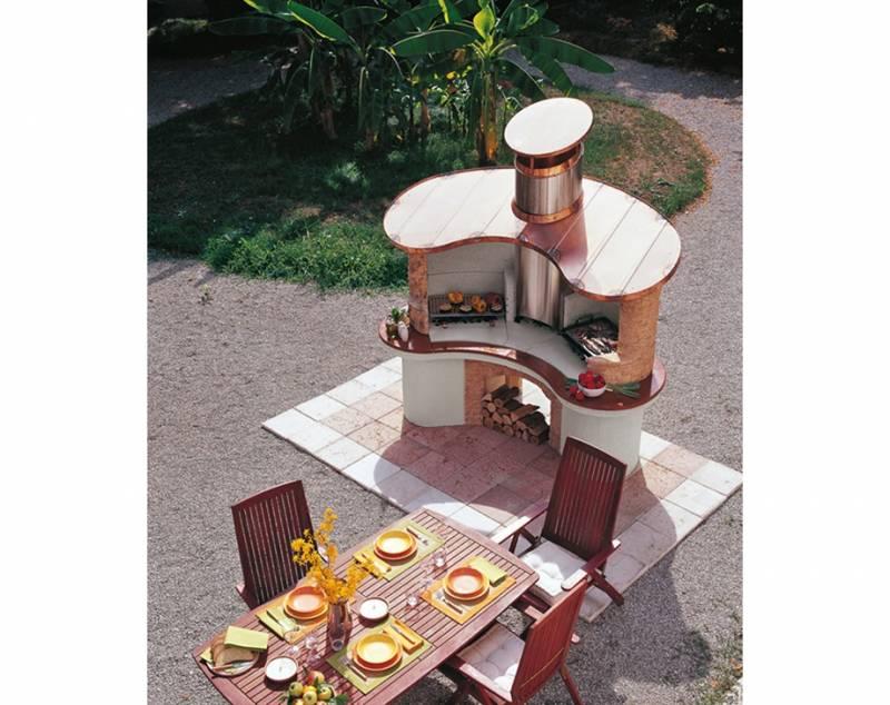 Palazzetti Grillkamin Sumatra Komplett Set
