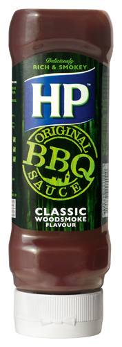 HP BBQ Sauce Classic Woodsmoke 370 ml Plastikflasche