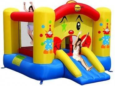 Hüpfburg HappyHop Clown 6,5 m² mit Rutsche