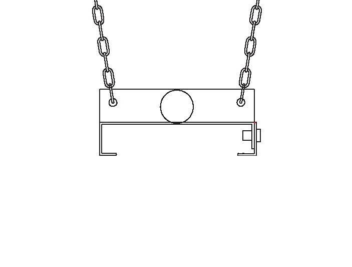 Heatstrip Design 1500 Aufhängeset