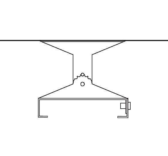 Heatstrip Design Montagebügel verstellbar